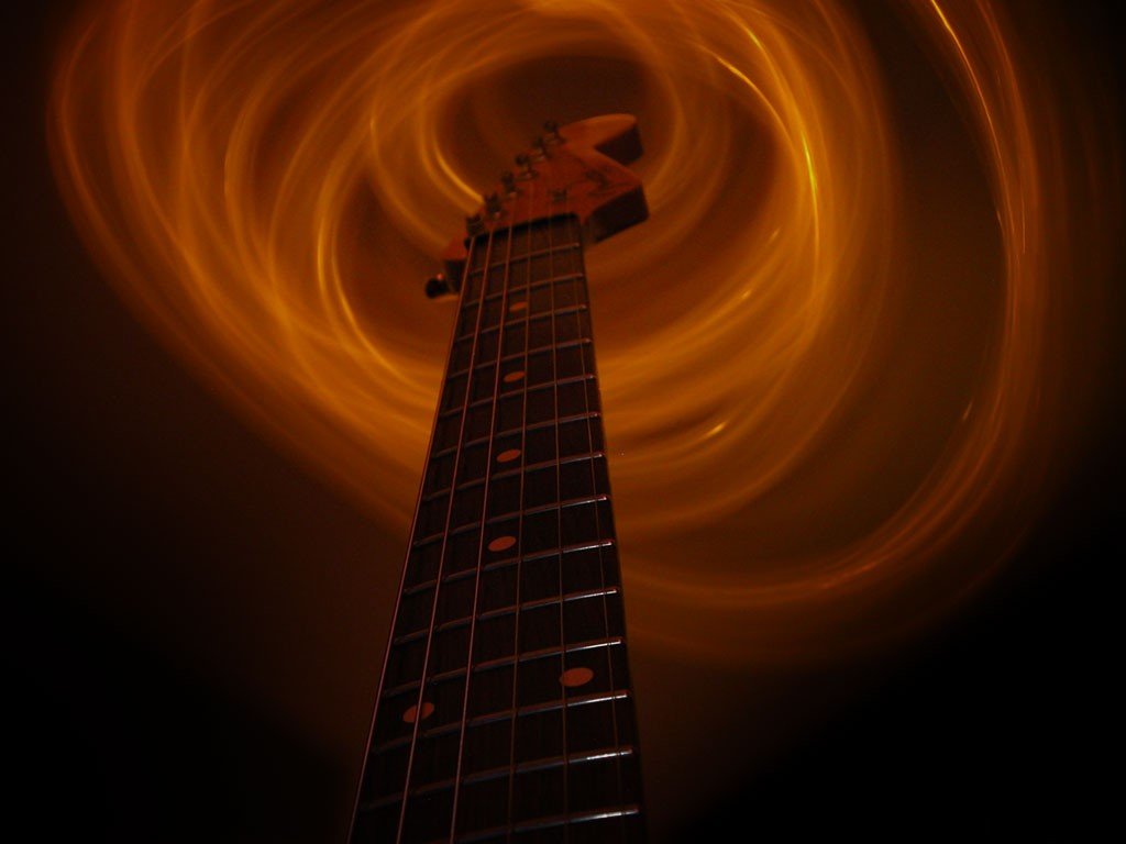 free guitar wallpapers on veojam
