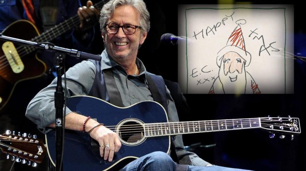 Eric Clapton - Happy Xmas - new album announced | Guitar news on ...