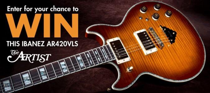 Win IBANEZ AR420VLS Guitar | Guitar news on Veojam com