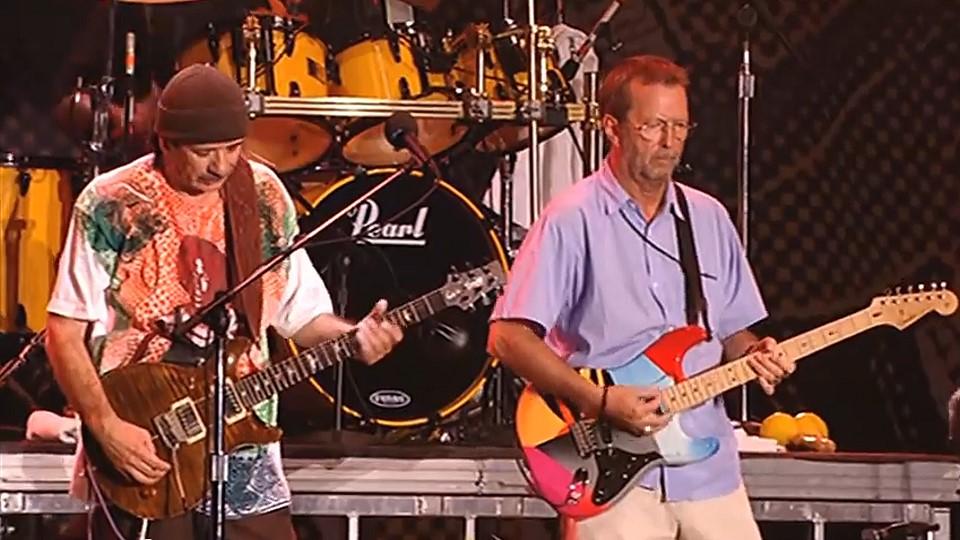 Eric Clapton And Carlos Santana Veojam