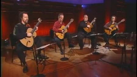 Los Angels Guitar Quartet (LAGQ) - Bach`s Prelude No  1 - Veojam