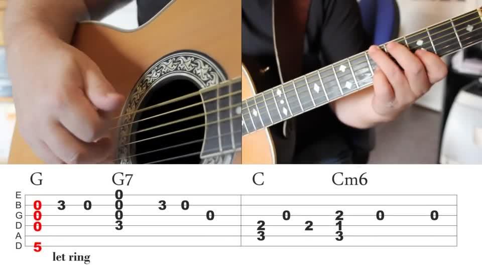 Desperado By Eagles Guitar Lesson Veojam